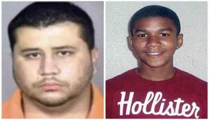 George Zimmerman and Trayvon Martin 300x173 A Death in Florida